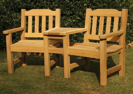 The Helmsley Companion Garden Bench