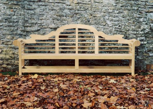 The Lutyens 8ft 6in Garden Bench