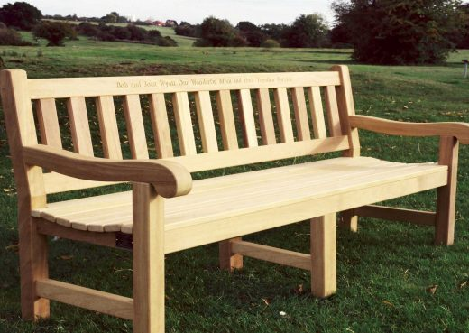 The Mendip 8ft Garden Bench