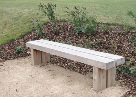 The Wykeham Douglas Fir 6ft Park Bench