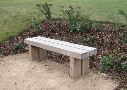 The Wykeham Douglas Fir 5ft Park Bench
