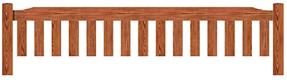 Enlarged Garden bench top rail option C