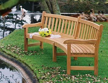 Garden Benches Bespoke Garden Furniture Woodcraft Uk